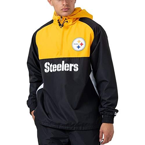 New Era Block Windbreaker Jacke - Pittsburgh Steelers - S