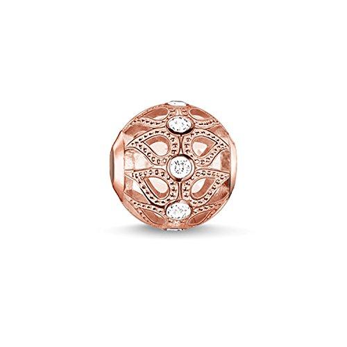 Thomas sabo - Thomas Ornament-Tropfen-Blockierung aus Silber mit Zirkonia K0146 - 416-14