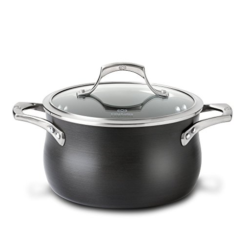 Calphalon 1756064 Unison Nonstick 4-Quart Soup Pot with Lid