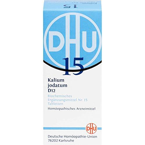 DHU Schüßler-Salz Nr. 15 Kalium jodatum D12 Tabletten, 80 St. Tabletten