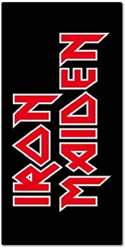 for-collectors-only Iron Maiden - Toalla de mano con logotipo clásico