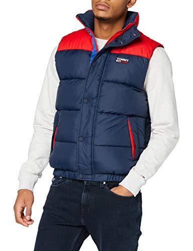 Tommy Hilfiger TJM Corp Puffa Vest Chaqueta, Twilight Navy/Multi, XS para Hombre