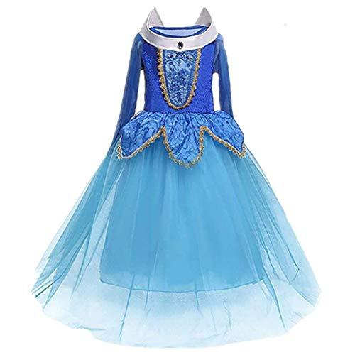 DreamHigh Sleeping Beauty Princess Party Girls Costume Dress Size 3-4 Years