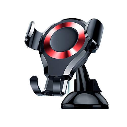 Soporte para teléfono de coche Soporte del coche del soporte del teléfono del coche del soporte del coche del soporte del coche de la ventosa para los smartphones de la rotación de 360 grados 4 '-6.
