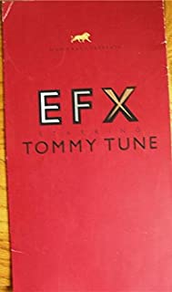 Tommy Tune Color Large Souvenir Program from EFX at The MGM Grand Hotel from 2000. starring Tommy Tune