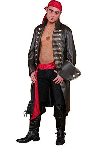 Disfraz para hombre de pirata frock, 58.