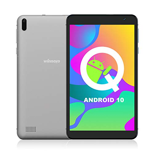 7 Inch Tablet Android 10.0 - Winnovo TS7 Tablet PC 32GB ROM 1G RAM Quad Core Processor HD IPS Display GPS Metal Middle Frame (Grey)