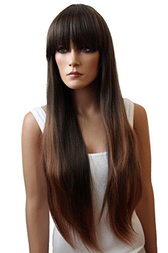 Prettyshop Perruque Wig, cheveux longs lisses, élaborées avec des fibres synthétiques résistantes à la chaleur, bien entendu.