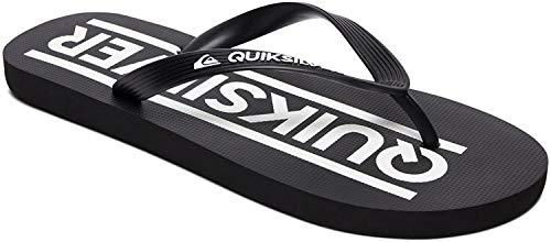 Quiksilver Java Wordmarkyt, Zapatos de Playa y Piscina Niño, Negro (Negro/(Xkkw Black/Black/White) Xkkw), 35 EU