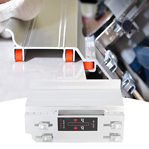 Bediffer Durable 45 grados biselado máquina de biselado de azulejos manual máquina de biselado para instalación de azulejos Decoración del hogar (plata)
