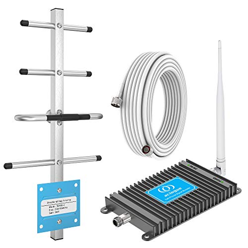 Cell Phone Signal Booster for Verizon 4G LTE 700MHz Band 13 FDD Home Mobile Signal Repeater Amplifier Antenna Kits,Improves 4G LTE Data Rates and Supports Voice Over LTE