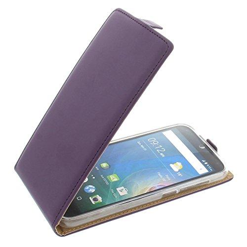 foto-kontor Tasche für Acer Liquid Z630 Liquid Z630S Liquid M630 Smartphone Flipstyle Schutz Hülle lila