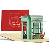 Buono regalo pop up, biglietti buoni regalo compleanno con ristorante 3d per lui o per lei, regalo, idea regalo per cena romantica, anniversario, San Valentino, C19