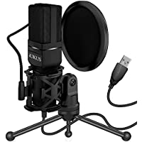 iUKUS USB Condenser Microphone with Stand & Filter