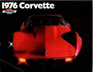 1976 CORVETTE STINGRAY DEALERS SALES BROCHURE - ADVERTISEMENT -