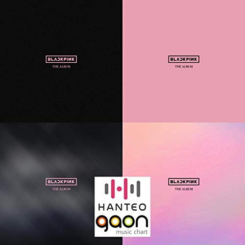 Blackpink - The Album [Random Ver.] (1st Full Album) [Pre Order] CD+Photobook+Others with Tracking Code, Extra Decorative Sticker Set, Photocard Set