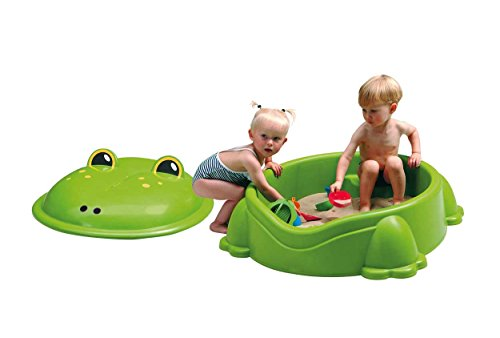 Eliware Paradiso Toys Sandkasten in Frosch-Form | 94 x 83 x 37