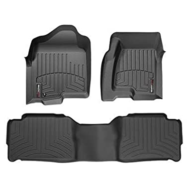 Weathertech 44481-1-2 Front and Rear Floorliners for 2013-2017 Honda Accord Sedan