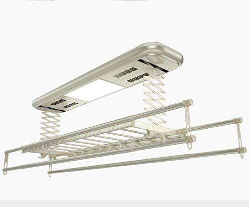 NANXCYR elektrische lavanderia dekbedovertrek voor elektrische vorkheftrucks met LED-licht UV-afstandsbediening desinfectie van negatieve ionen naar keuze naturel, 9003S