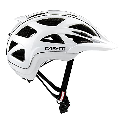 Casco Activ 2 Fahrradhelm Erwachsene Radhelm weiß Glanz 56-58 cm (M)