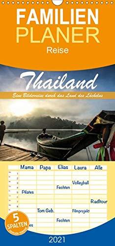 Thailand - Eine Bilderreise durch das Land des Lächelns - Familienplaner hoch (Wandkalender 2021 , 21 cm x 45 cm, hoch): Traumhafte Aufnahmen aus dem Land des Lächelns (Monatskalender, 14 Seiten )