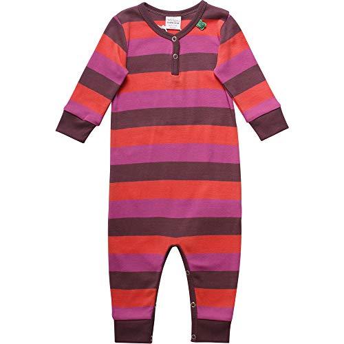 Fred'S World By Green Cotton Multi Stripe Bodysuit Body, Violet (Plum Purple 019231101), 58 (Taille Fabricant: 56) Bébé Fille