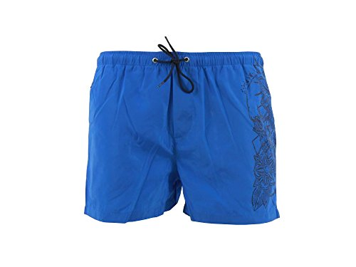 REPLAY Herren Badeshort blau blau Small