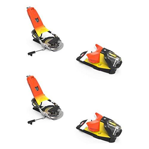 LOOK - Fixations De Ski Pivot 14 Gw B115 Forza - Homme - Taille Unique - Orange