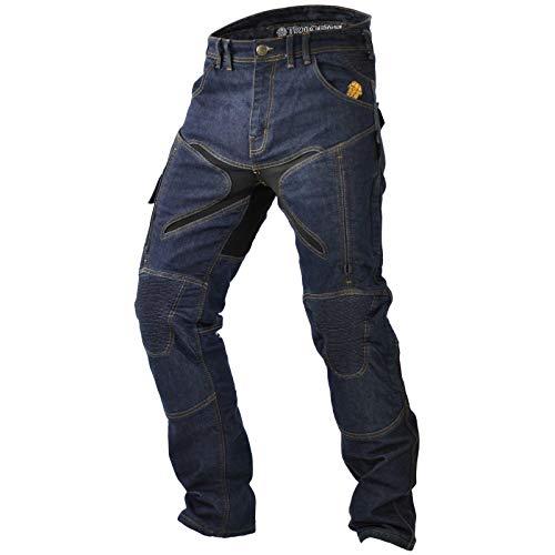 Preisvergleich Produktbild Trilobite Herren Motorradjeans Probut X-Factor,  Blau,  L32,  36,  38166304