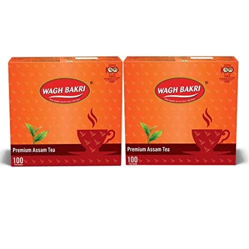 Wagh Bakri Premium Assam Tea - 400 Tea Bags