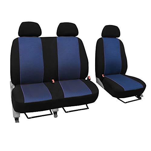 GSC Sitzbezüge Universal Schonbezüge 1+2 kompatibel mit Renault TRAFIC