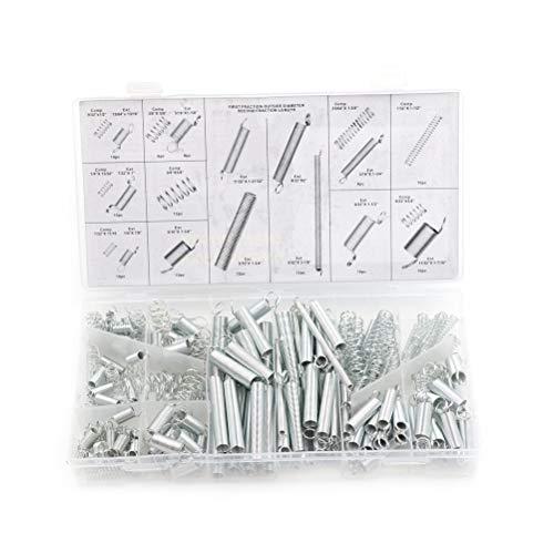 Lchg-ui Kits de muelles Resorte de compresión, 200pcs / Set, la tensión de Hardware Primavera, Sistema en la casilla 20 Tamaño resortes Surtido, Primavera