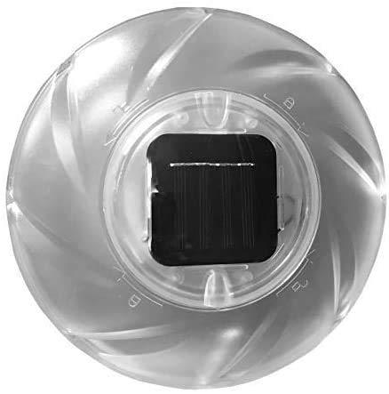 well2wellness LED Solar - Schwimmlampe für Schwimmbäder, Whirlpools + Garten (022882)
