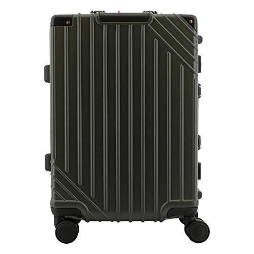 [フリーランス] スーツケース 機内持ち込み可 37L 48cm 3.6kg FLT-018 FREELAMCE ハード フレーム TSAロック搭載 キャリーバッグ キャリーケース [12/29] カーキ