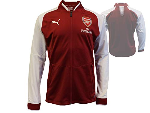 PUMA Arsenal FC Stadium - Giacca unisex, Unisex - Adulto, Giacca, 752656 03, Colore: rosso, M