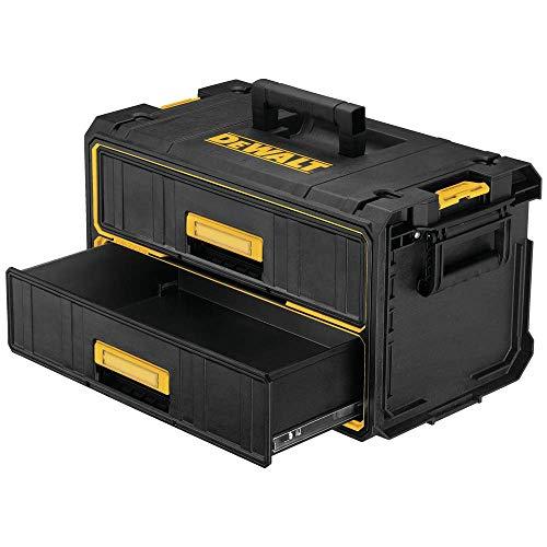 DEWALT Tool Organizer, 2 Drawers, Tough System (DWST08290)