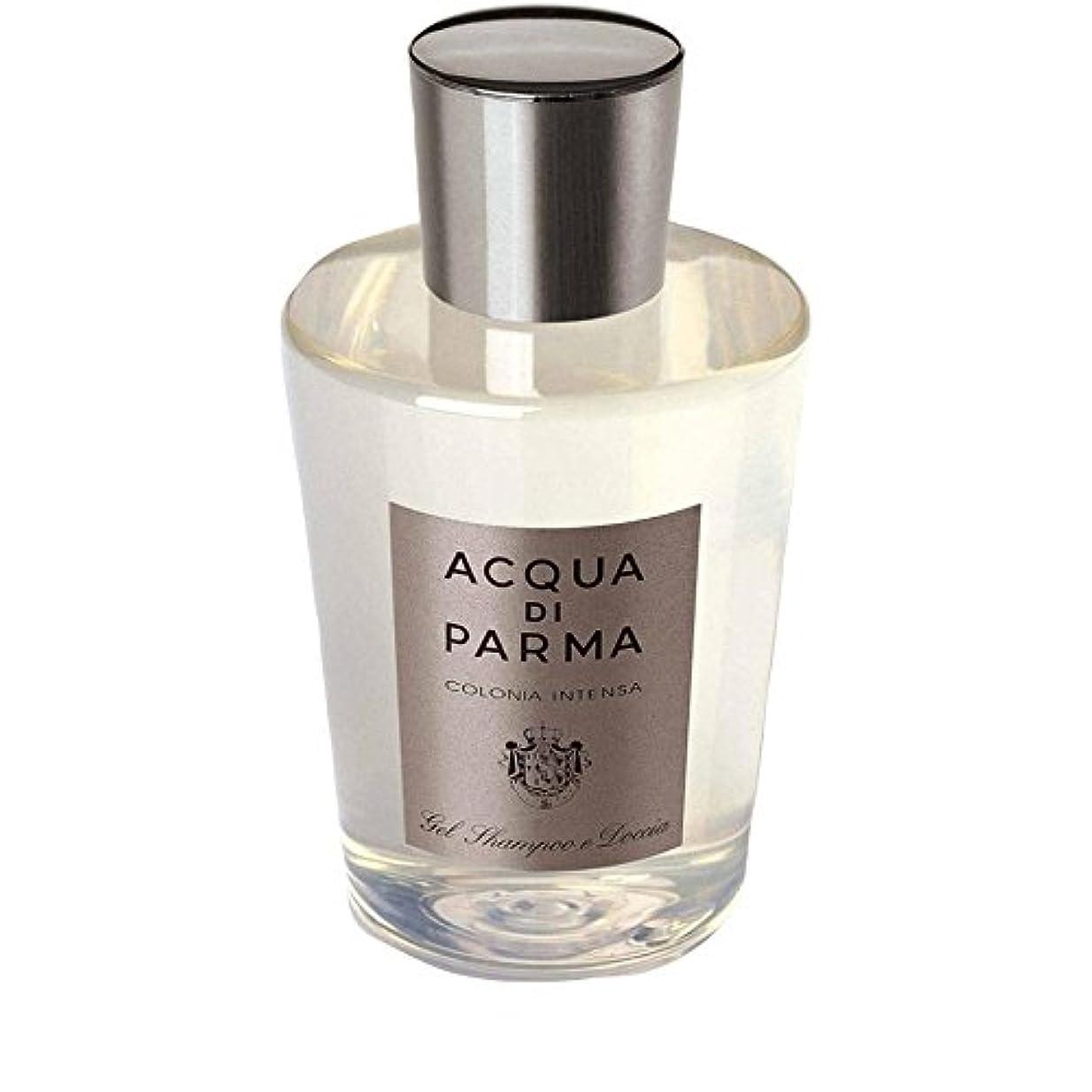 タバコ成分対処Acqua Di Parma Colonia Intensa Hair And Shower Gel 200ml - アクアディパルマコロニア髪とシャワージェル200 [並行輸入品]