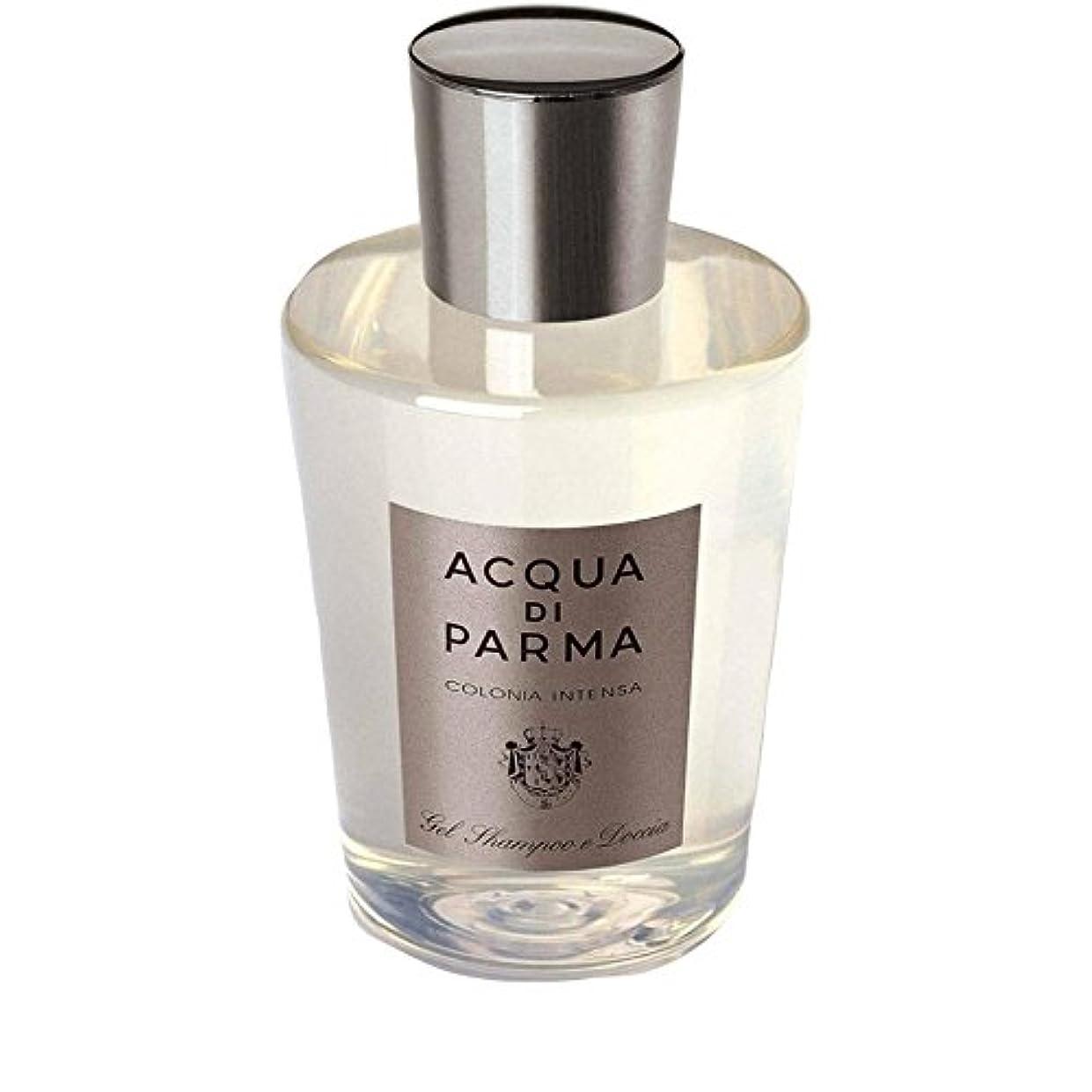 吸う等々和らげるAcqua Di Parma Colonia Intensa Hair And Shower Gel 200ml - アクアディパルマコロニア髪とシャワージェル200 [並行輸入品]