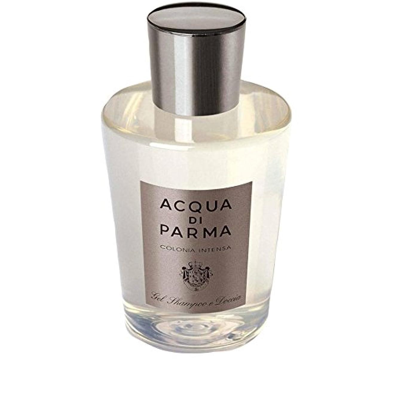 生物学生活惑星Acqua Di Parma Colonia Intensa Hair And Shower Gel 200ml - アクアディパルマコロニア髪とシャワージェル200 [並行輸入品]