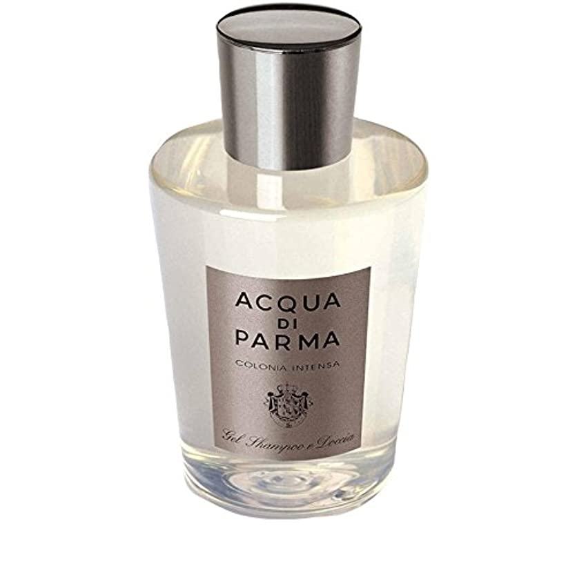 節約ほこりコンペAcqua Di Parma Colonia Intensa Hair And Shower Gel 200ml - アクアディパルマコロニア髪とシャワージェル200 [並行輸入品]