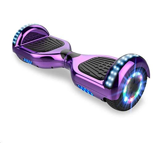 Self-Balancing Scooter, deskorolka elektryczna 6,5 cala, hulajnoga dla dzieci, Bluetooth z kolorowym światłem, wbudowany prezent