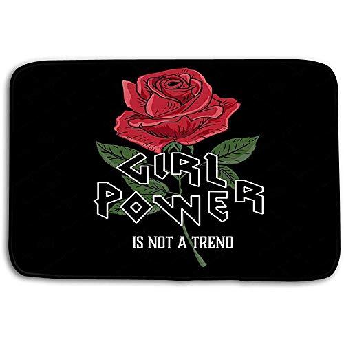 Deurmatten tapijt worden uw zelf Vrouw Slogan Rose Typografie Grafische Gedrukt Ontwerp afdrukken Kleding zijn uw Bad Matten