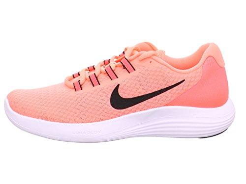 Nike Damen Wmns Lunarconverge Laufschuhe, Mehrfarbig (Lava Glow/black-hot Punch-white), 37.5 EU