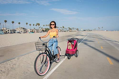 PETIQUE Bike Adapter for All Terrain Jogger Pet Stroller Bike Adapter, Black, One Size (BA01000000) 5
