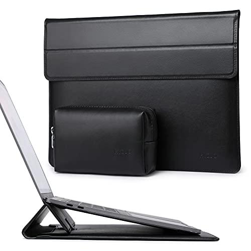 HYZUO 13-13,5 Zoll Laptop Hülle Lammleder Laptophülle mit Standfunktion Compatibel mit 13,5 Surface Laptop/Alt MacBook Air 13,3/2012-2015 MacBook Pro 13,3/ iPad Pro 12,9 2015 2017/ Hp Spectre x360 13