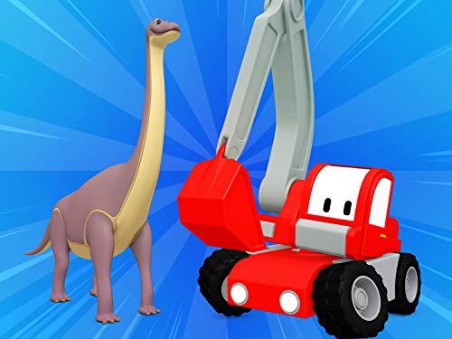 Dinowelt / Das Müllauto / Dachreperatruren / Wabe