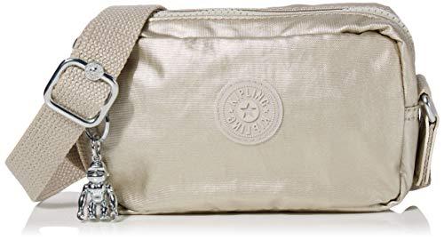 Kipling Souta - Borse a tracolla Donna, Oro (Cloud Metal Gifting), 17x11x5.5 cm (B x H T)