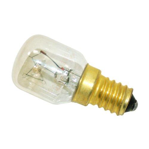 50279888007 ou (5027 98 88 00/7) Lampe forme POIRE pour FOUR et MICRO-ONDES T28 E14-25 W 230V 30
