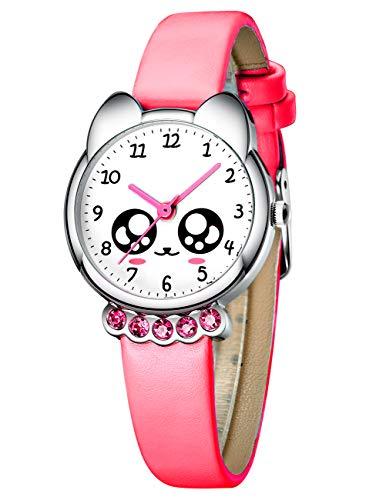 Relojes Niños Reloj de Pulsera Deportivo Impermeable de Dibujos Animados para Chicas Niñas Relojes de Cuarzo Azul Analógico Moda Diseñador Elegantes de para Niños Niñas Chicas