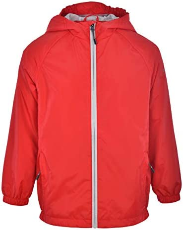 Swiss Alps Boys Wind Resistant Lightweight Rain Jacket Risk Red 8 product image
